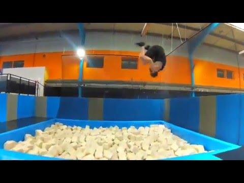 indoor 45 trampoline youtube. Black Bedroom Furniture Sets. Home Design Ideas