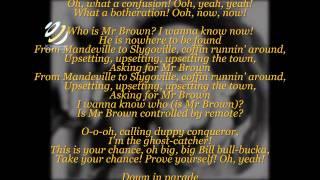bob-marley-mr-brown--letras