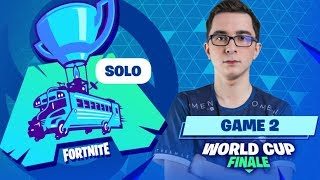 WORLD CUP SOLO ► LE TOP 1 D'UN JOUEUR FRANCAIS ?! - GAME 2
