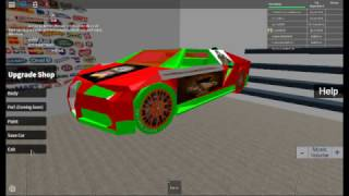 CUSTOM MAKING MY NEW BUGATTI. ROBLOX. STREET RACERS BETA