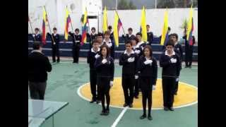 JURA A LA BANDERA COLEGIO SURCOS 2012 QUITO - ECUADOR - Grande.m4v