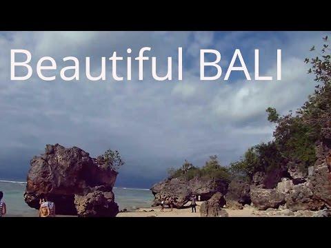 Beautiful Padang Padang beach, Bali, Indonesia