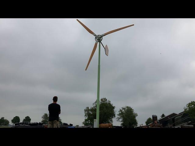 Honderden kleine windmolens oplossing voor energietransitie?