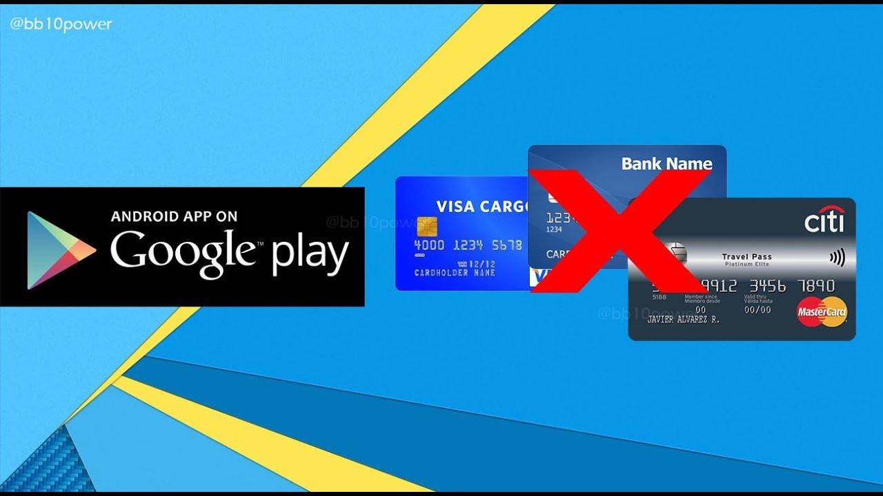 Cómo Eliminar Tarjeta de Crédito o Paypal en Google Play Store