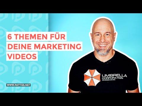 6 Themen für Marketing Videos: Was jetzt besonders gut funktioniert im Videomarketing