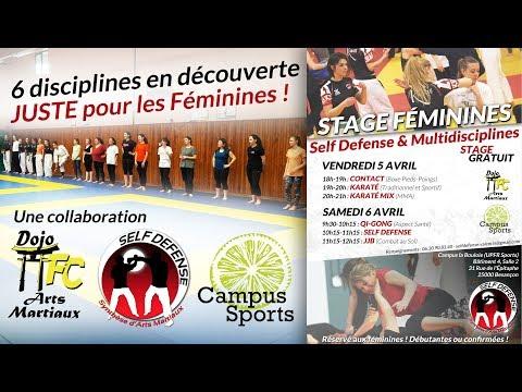 Stage Multidisciplines Féminine - 2019
