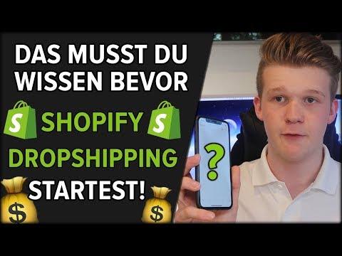 Das MUSST Du Wissen, Bevor Du Mit Shopify Dropshipping STARTEST 🔓💰 thumbnail