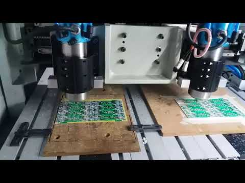 Water Cooled Double Spindle CNC PCB Drilling Machine Manufacturer