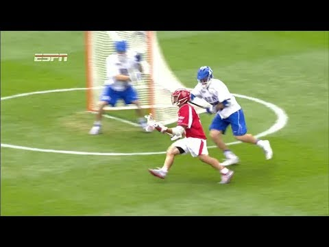 Rob Pannell ties and breaks career scoring record with back to back goals on isolation dodges