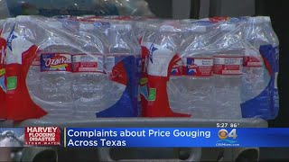 Houston Officials: Price Gouging Complaints Pouring In