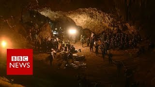 Thailand cave rescue: Children found 'by smell' - BBC News