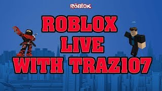 ROBLOX | LIVE WITH VIEWERS RIGHT NOW - I am not good at this lol.