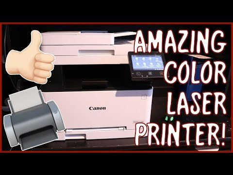 Canon Color ImageCLASS MF634Cdw Printer Overview, Demo, And Review | The BEST Printer You Can Buy!