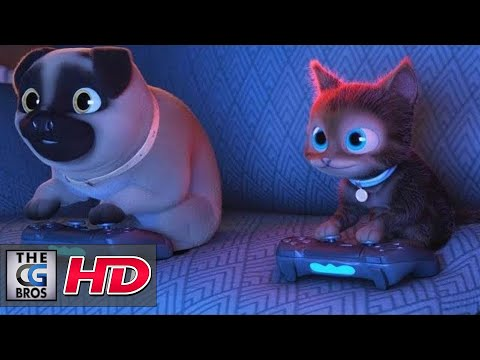 """CGI 3D Animated Short: """"Decaf""""  -by The Animation School"""
