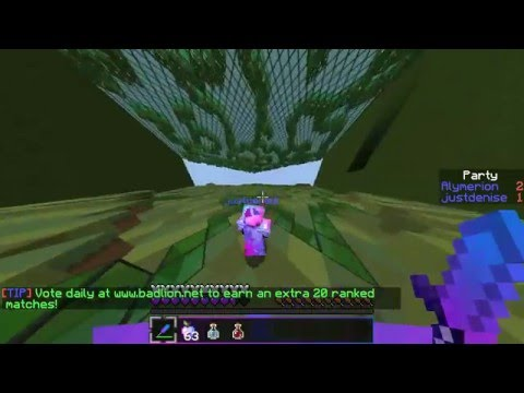 Minecraft Badlion 1 Alymerion vs JustDenise