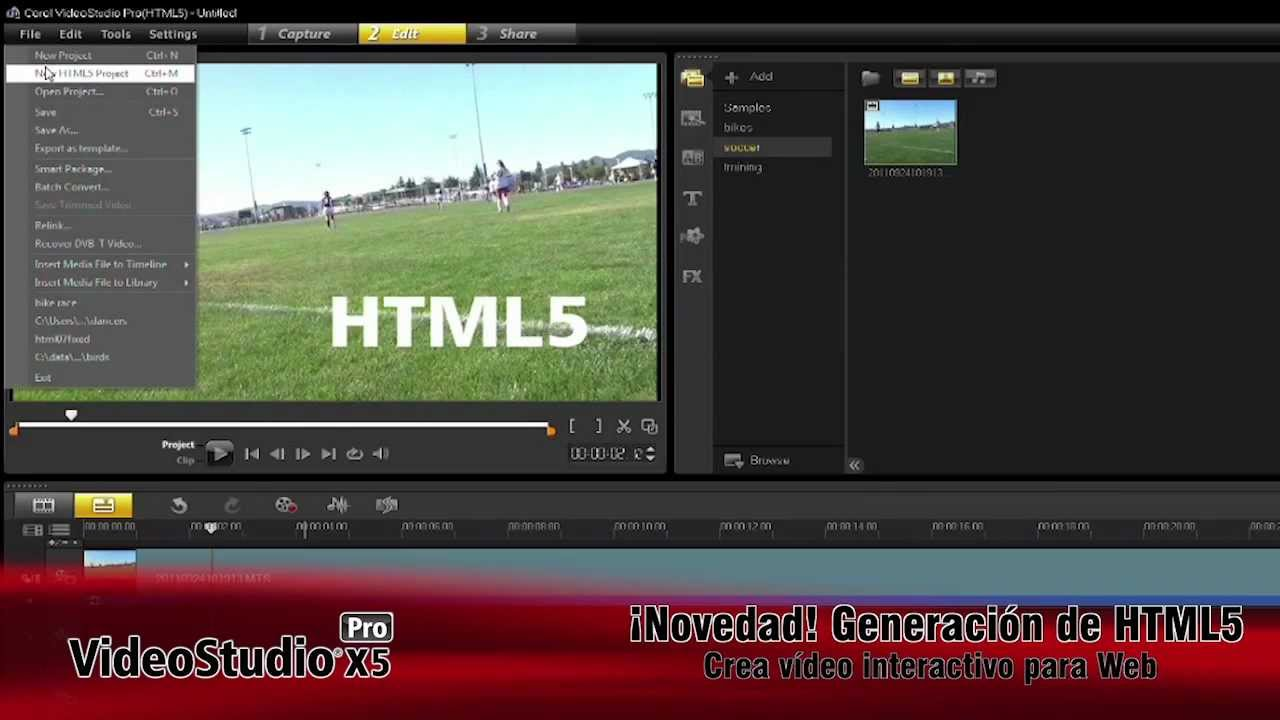 tutorial corel videostudio x7 no lo hará