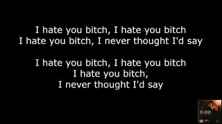 Z-Ro - I Hate You Bitch (lyrics on-screen)