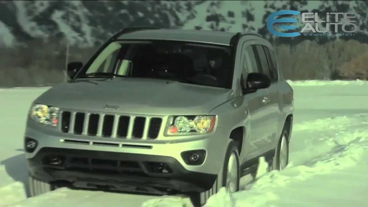 essai jeep compass 2 2l crd 163 overland 2011 youtube. Black Bedroom Furniture Sets. Home Design Ideas