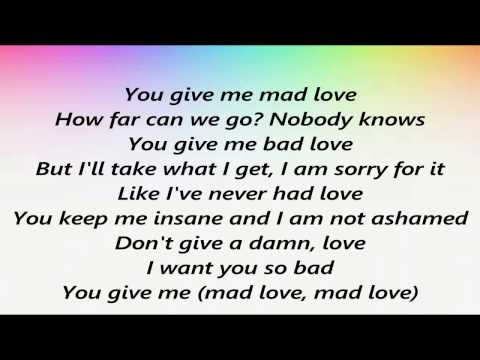 JoJo - Mad Love (Lyrics)