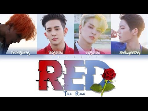 The Rose (더 로즈) – 'Red' (Color Coded Lyrics Eng/Rom/Han/가사)