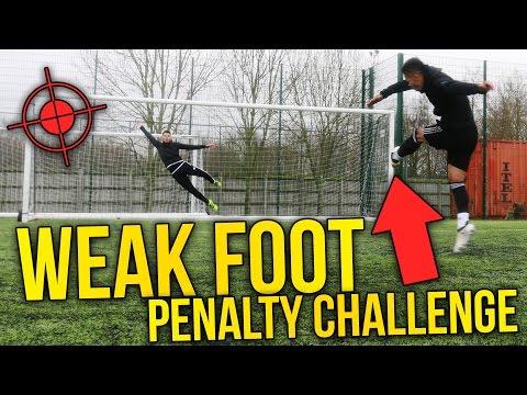 WEAK FOOT PENALTY CHALLENGE! BILLY VS JEZZA