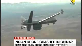 Breaking News: Indian drone crashed in China?