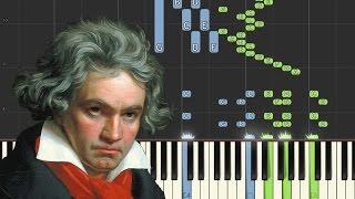 Beethoven: Piano Sonata No.3, Op.2 No.3, 4th Movement (Allegro Assai) | [Piano Tutorial] - Synthesia