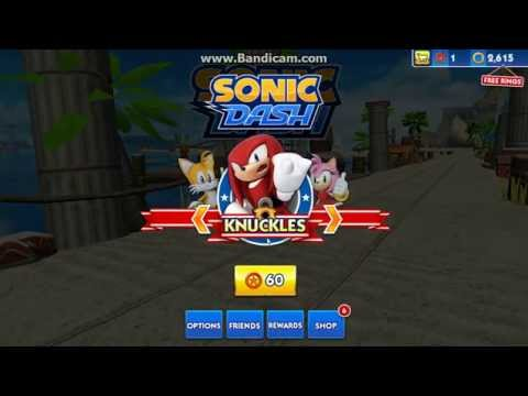 Sonic Dash (glitch)play As Any Charecter