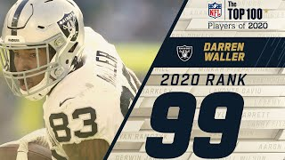 #99: Darren Waller (TE, Raiders) | Top 100 Players of 2020 | NFL