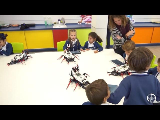 Clases de robótica en Ed. Primaria - SancaTV