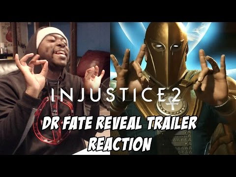 WHEN THE ANKH HITS JUST RIGHT | INJUSTICE 2 | DR FATE REVEAL TRAILER REACTION