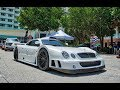 The Mercedes Benz Clk Gtr Is One Of The Craziest V12 Beast Ever Made   Arriving To Goldrush Rally