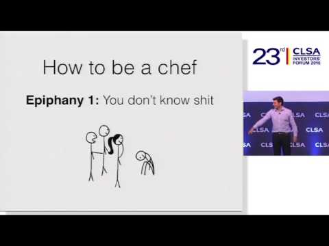How We Can Be More Like Chefs - Tim Urban