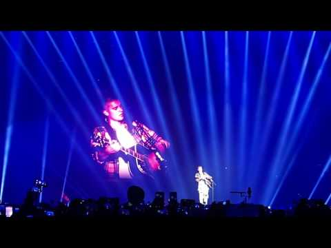 Cold Water / Love Yourself (acoustic)- Justin Bieber-Purpose tour Tokyo
