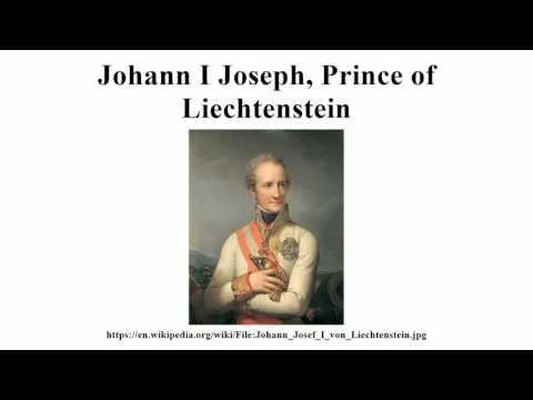 Johann I Joseph, Prince of Liechtenstein