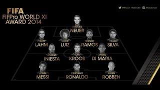 vuclip FIFA Ballon d'Or 2015 - 11 Best Players of 2014!