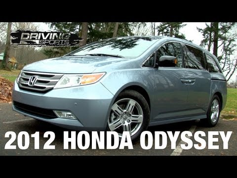 2012 honda odyssey touring elite quick review youtube. Black Bedroom Furniture Sets. Home Design Ideas