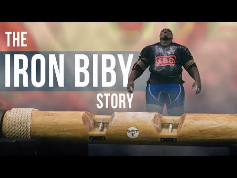 Bullied schoolboy to World Record Log Presser? THE IRON BIBY STORY