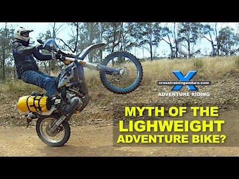 MYTH OF THE LIGHT WEIGHT ADVENTURE BIKE?: Adventure Oz