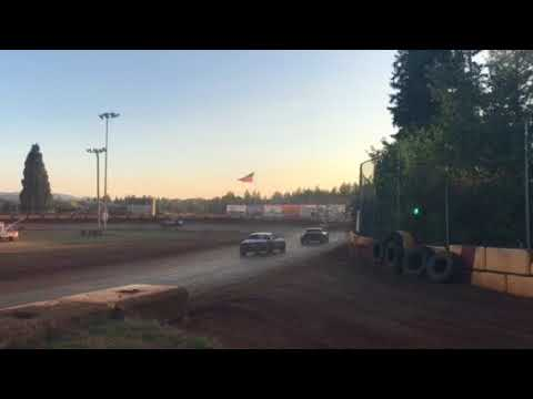 Sunset Speedway  Street Stocks heat race July 28, 2018