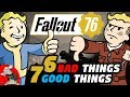 Fallout 76 Beta - The Good and The Bad - What It Does Well / What It Needs To Improve?