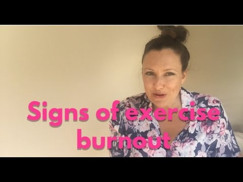 Signs of Exercise Burnout & How To Avoid It [Natalie Carter Talks Fitness]