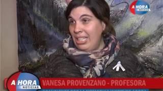 GRACIELA OLIVERA   VANESA PROVENZANO   CHARLY MONTAÑO   INSTITUTO AGORA PRESENTO CANCIONES POR LA ME