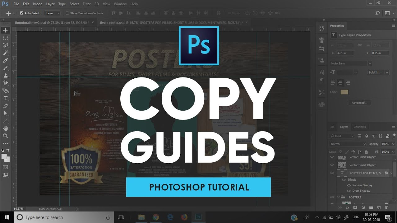 Photoshop Tutorial: Using Copy and Paste in Photoshop CS6