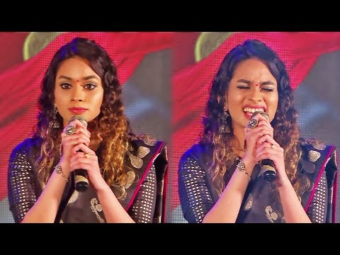 Kannama song live performance by Santhosh Narayanan daughter Dheee in WE Awards | Kaala
