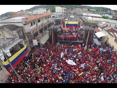 Se desbordaron las calles de Guanare con la Gran marcha tricolor por la Paz y la Vida