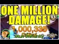 SUMMONERS WAR : ONE MILLION DAMAGE!!!