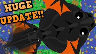 MOPE.IO BLACK DRAGON NEW ABILITY!! // Mega T-Rex Glitch & New Eagle (Mopelution Update)
