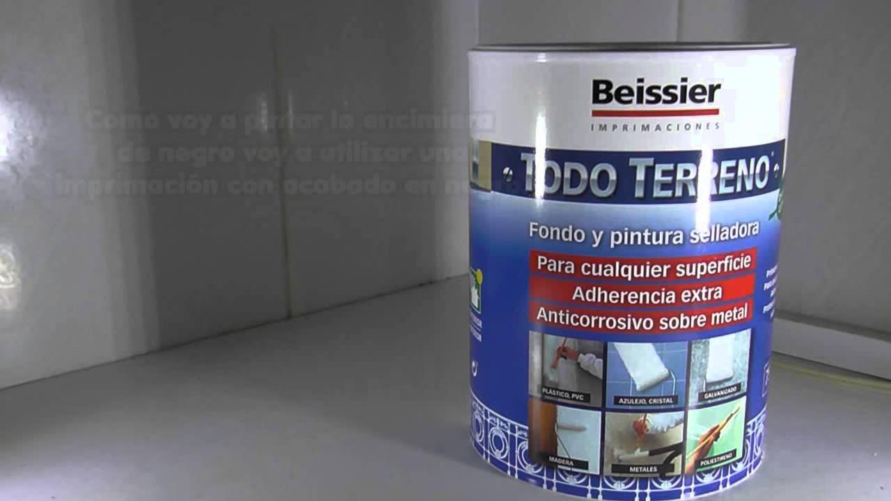 Pintar Y Reparar Una Encimera 23 Imprimación De La Encimera Youtube