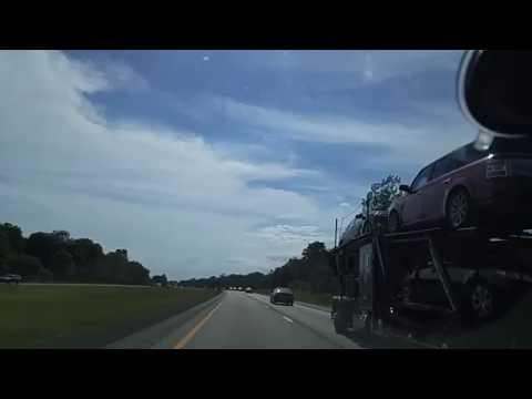 Driving on I-90 from Batavia to Buffalo,New York